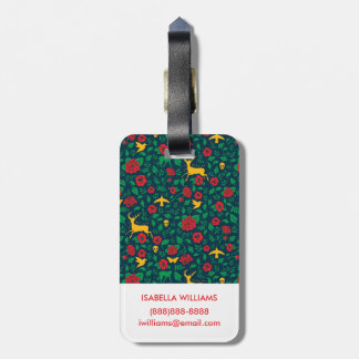 Frida Kahlo | Life Symbols Luggage Tag