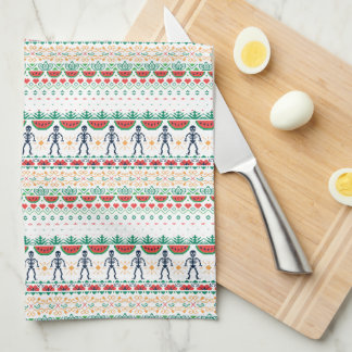 Frida Kahlo   Mexican Graphic Tea Towel