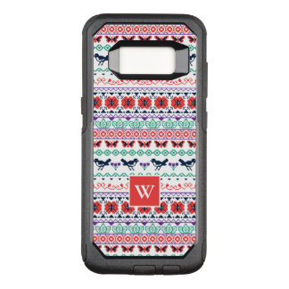 Frida Kahlo | Mexican Pattern OtterBox Commuter Samsung Galaxy S8 Case