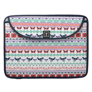 Frida Kahlo | Mexican Pattern Sleeve For MacBook Pro