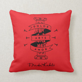 Frida Kahlo | Pain Art Love Cushion