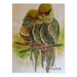 Frida Kahlo Painted Birds Post Card