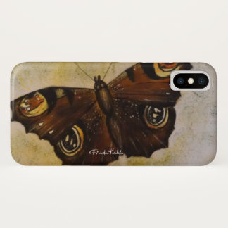 Frida Kahlo Painted Butterfly iPhone X Case