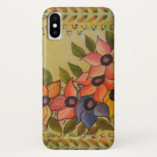 Frida Kahlo Painted Flores iPhone X Case
