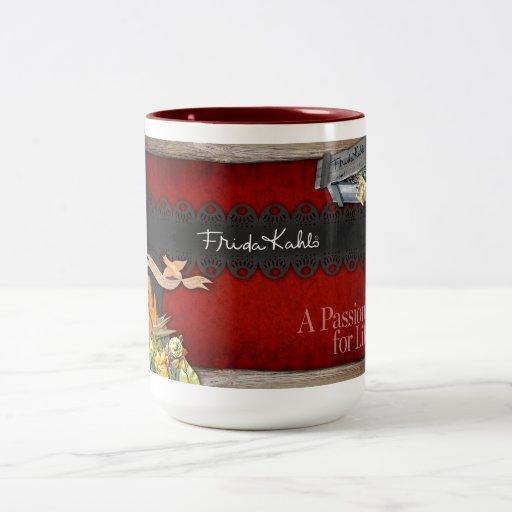 Frida Kahlo - Passion for Life Coffee Mugs