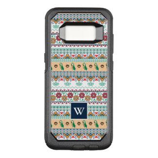 Frida Kahlo | Patrón de Colores OtterBox Commuter Samsung Galaxy S8 Case