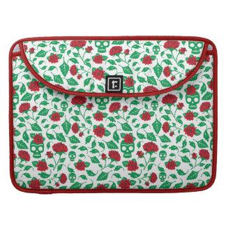 Frida Kahlo | Skulls & Roses Sleeves For MacBook Pro