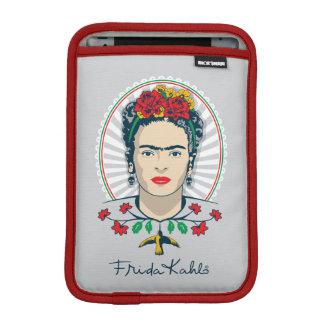 Frida Kahlo   Vintage Floral iPad Mini Sleeve