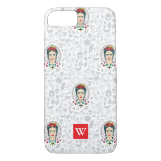 Frida Kahlo | Vintage Floral iPhone 8/7 Case