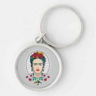 Frida Kahlo | Vintage Floral Key Ring