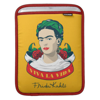 Frida Kahlo   Viva la Vida iPad Sleeve