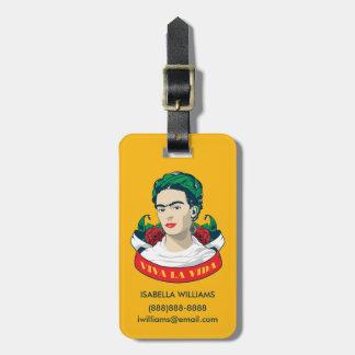 Frida Kahlo | Viva la Vida Luggage Tag