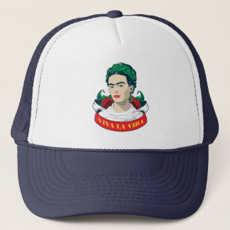 Frida Kahlo   Viva la Vida Trucker Hat