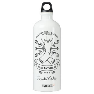 Frida Kahlo | Wings to Fly Water Bottle