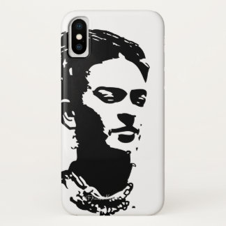 Frida Shadow Portrait iPhone X Case