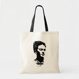 Frida Shadow Portrait Budget Tote Bag