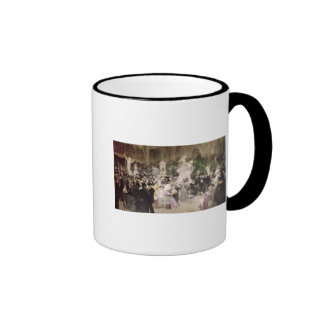 Friday at the French Artists' Salon, 1911 Ringer Coffee Mug
