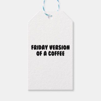 Friday Coffee Gift Tags