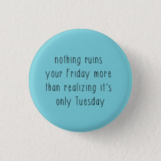 friday funk 3 cm round badge