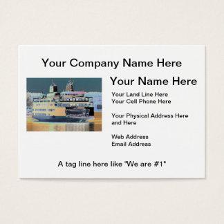 friday harbor ferry San juan island    ferry land Business Card