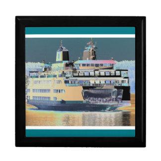 friday harbor ferry San juan island  | ferry land Gift Box