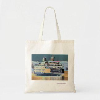friday harbor ferry San juan island  | ferry land Tote Bag