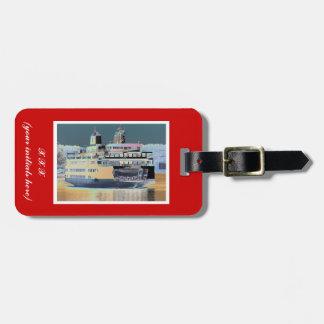 Friday Harbor Ferry San Juan Island - The Samish Bag Tag