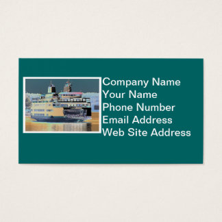 Friday Harbor Ferry San Juan Island - The Samish Business Card