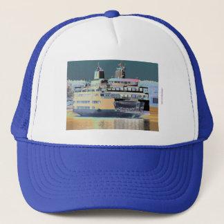 Friday Harbor Ferry San Juan Island - The Samish Trucker Hat