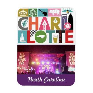 Fridge Magnet Charlotte North Carolina