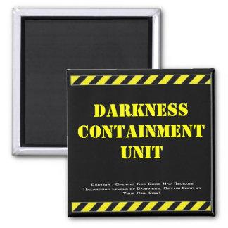 Fridge Magnet Darkness Containment Unit