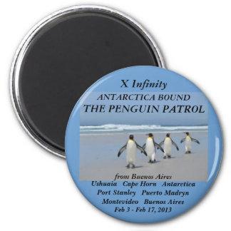 fridge magnet infinity 2013 penguin patrol