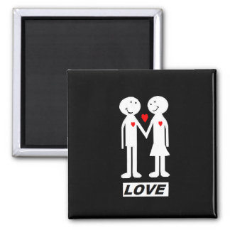 "fridge magnet ""love"""