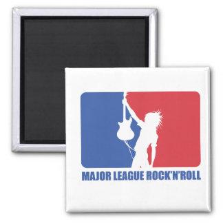 FRIDGE MAGNET - MAJOR LEAGUE ROCK'N'ROLL