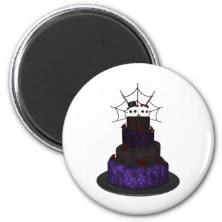Fridge magnet with a Gothic theme