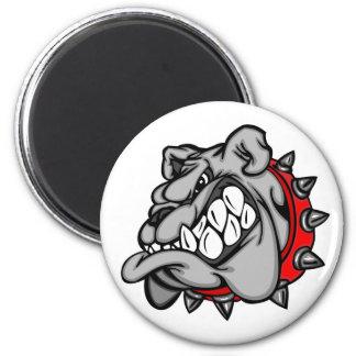 Fridge Magnet with Bulldog Motive