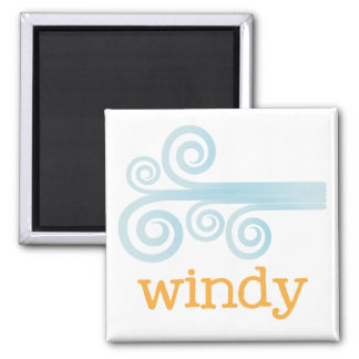 Fridge Weather - WINDY Magnet