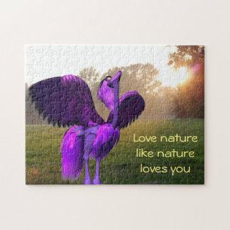 Frieburd Loves Nature Puzzle (252 pieces)