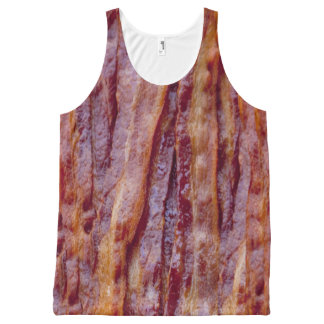 Fried bacon All-Over print singlet