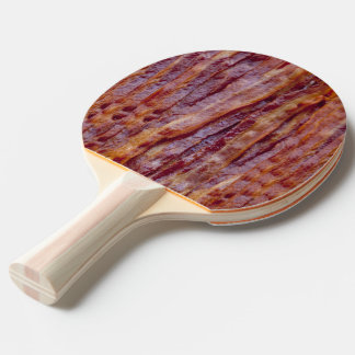 Fried bacon ping pong paddle