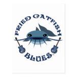 Fried Catfish Blues Postcard