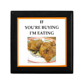 fried chicken gift box
