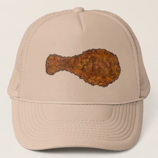 Fried Chicken Leg Drumstick Soul Food Foodie Hat
