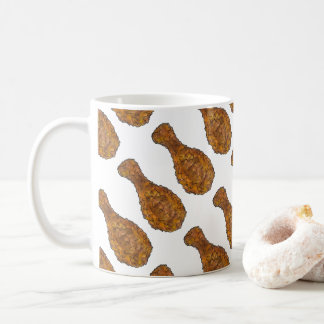 Fried Chicken Leg Drumstick Soul Food Foodie Mug