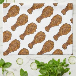 Fried Chicken Leg Drumstick Soul Food Foodie Towel