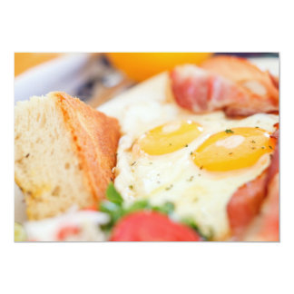 Fried eggs card