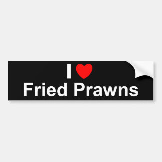 Fried Prawns Bumper Sticker