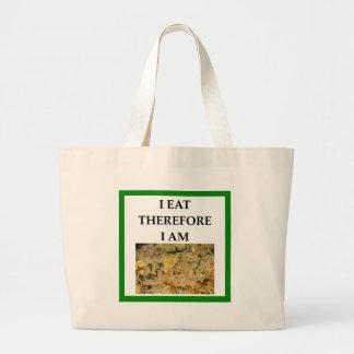 fried rice large tote bag