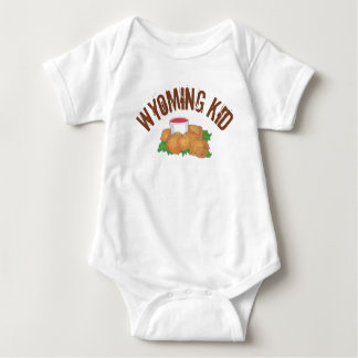 Fried Rocky Mountain Prairie Oysters Wyoming Kid Baby Bodysuit