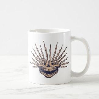 Fried Skull Basic White Mug